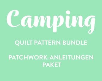 Camping PDF Quilt Pattern Bundle