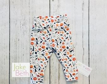 Halloween baby pants, toddler pants