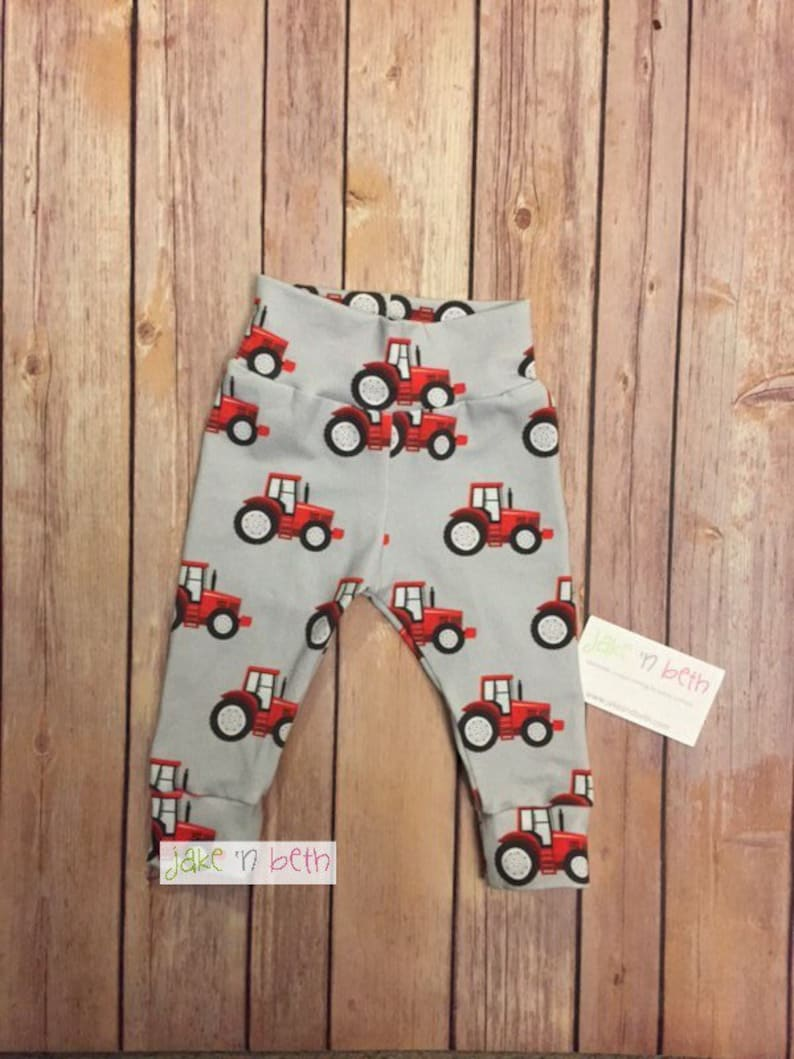 Tractor Baby Pants | Stay at Home Mum