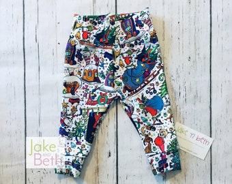 Christmas baby pants, toddler pants