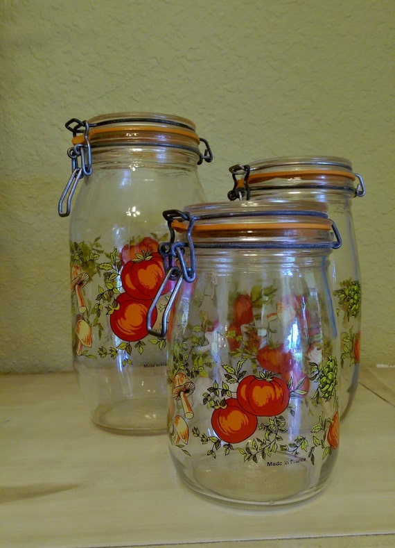 Arc Spice O Life Jar Canister 1 Wire Bale Closure And Rubber Etsy