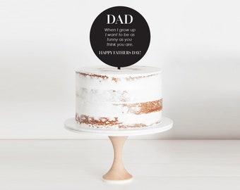 Happy Fathers Joke | Cake Topper | Mask Corona Virus | Covid 19 Pandemic 2020