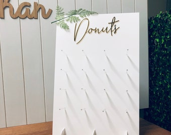 16/32 Donut Wall Stand / Party Event Decoration | Donut Bar Birthday Display | Cake Table | First Birthday | 21st Birthday