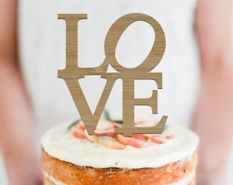 NY Love cake topper  -  Scripted Cake Topper -  Wedding or Engagement Cake Topper  - Cake - Party - Event - Decoration /  Express Shipping