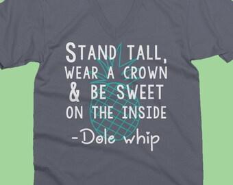 disney shirts / disney v necks / disney family shirts /disney dole whip shirt / dole whips / pineapple dole whip shirt / cute disney shirts