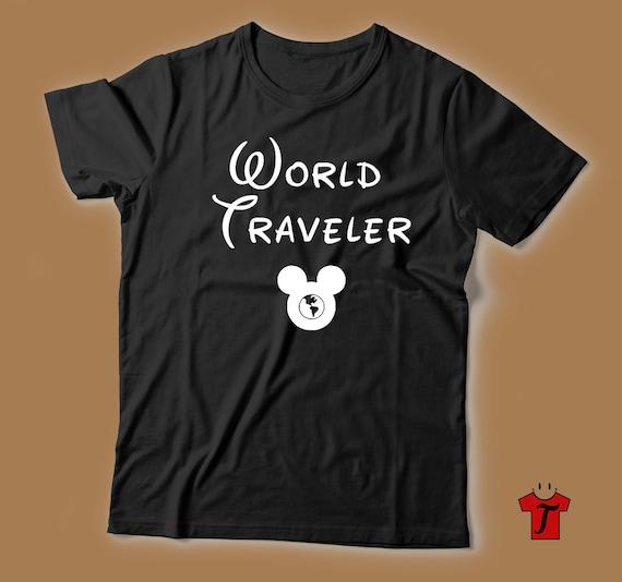 Epcot World Traveler Shirt Epcot Shirts Disney Shirts For Etsy