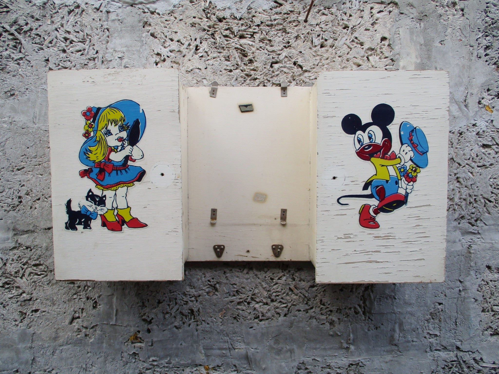 Vintage Schrank für Bad / Kinder Spind/Bad | Etsy