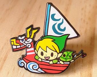 Zelda_ metal pin
