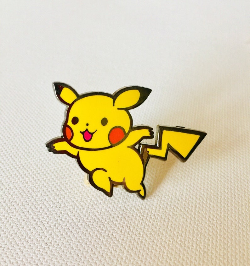 pika-metal pin