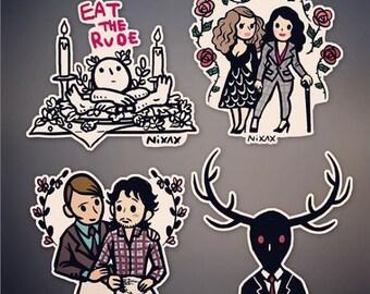 Hannibal- sticker set(New design added)