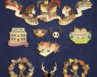 PRE-ORDER: Hannibal  series Vol.2  _Hannigram enamel pin/ puzzle set