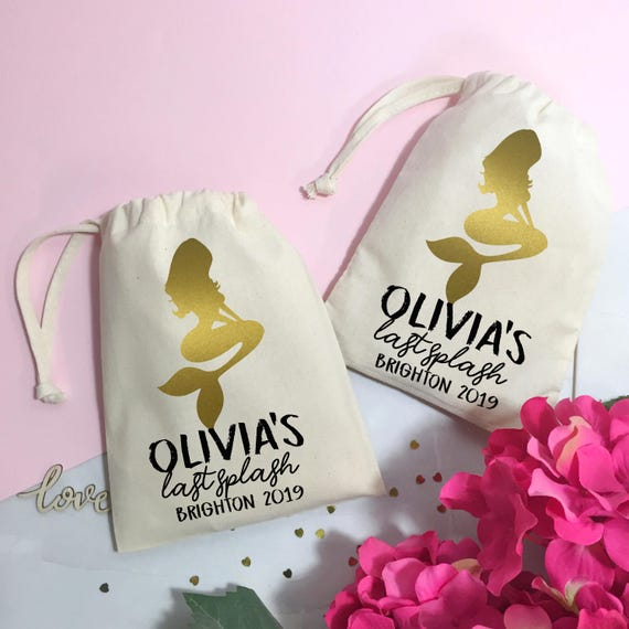 Mermaid Hen Party Gift Bag He Do Weekend Thank You Favour Etsy