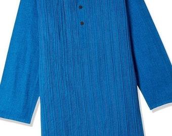 ON SALE Boys Blue Cotton Kurtas for Summer casual park wear, party wear, weddings, marriages, Diwali , Holi, Birthday, Navratri, garba, danc