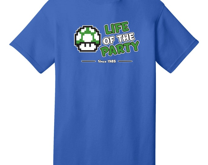 Life Of The Party Funny Luigi T-Shirt - Best gifts for Family, Friends & Colleagues. Birthday or Christmas Gifts!