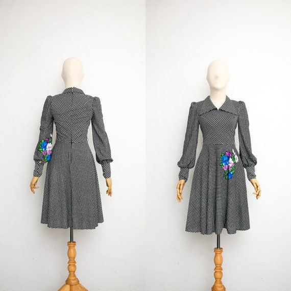 Vintage 60s Dress | Japanese Vintage Dress | Black