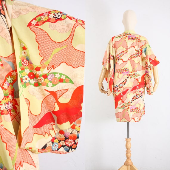 Vintage Kimono | Vintage Silk Kimono | Vintage Jap