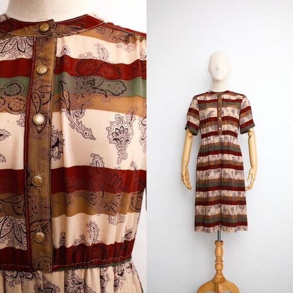 Vintage 70s Dress | Japanese Vintage Dress | Sheer