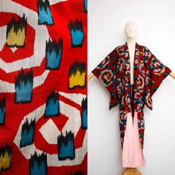 Vintage Kimono | Vintage Japanese Kimono | 30s Sil