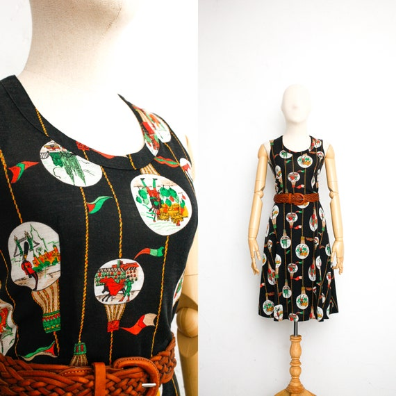 Vintage 60s Dress | Japanese Vintage Dress | Flare