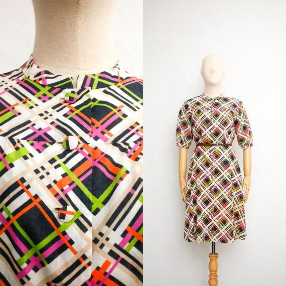 Vintage Dress | 70s Japanese Vintage Dress | Sheer
