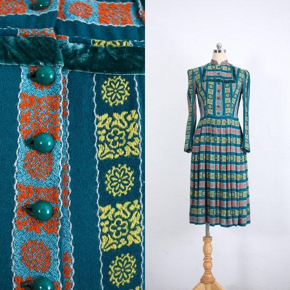 Vintage 50s Dress | Vintage Shirtwaist Dress | Cot