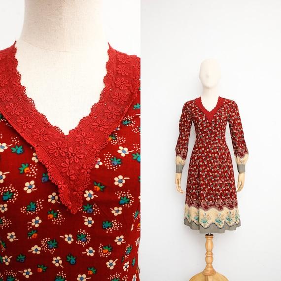 70s Vintage Dress   Gunne Sax Dress   Japanese Vin