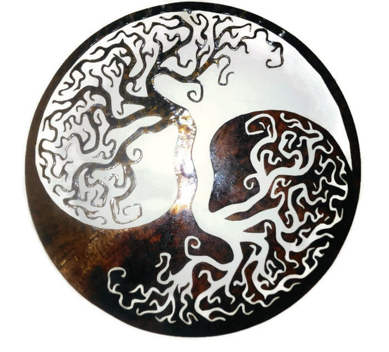 81cbdb7ac894 Tree of Life Wedding Party Gift Yin and Yang Meaningful Gift