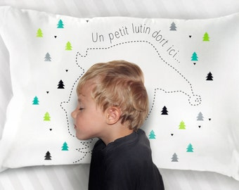 Pillowcase of Christmas for kids: A little Pixie sleeps here