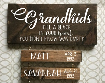 NEW Boys /& Girl  MIXED CUTE FACE GRANDCHILDREN  Personalised Baby on Board Sign