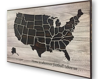 Stadium tracking map | Etsy