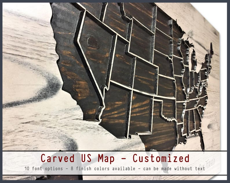Push Pin US Map, Wooden Map, Wood Wall Art, Travel Decor, rustic, shabby  chic, distressed, United States Map, Home Wall Decor, Wood US Map