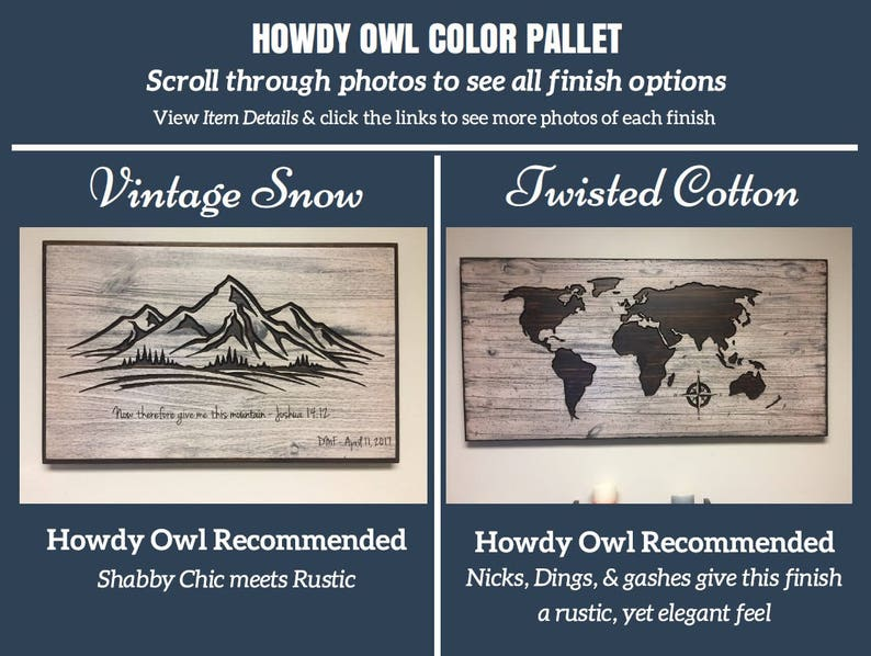 ffa3ee939320 Color Pallett for Howdy Owl World Maps please visit our shop