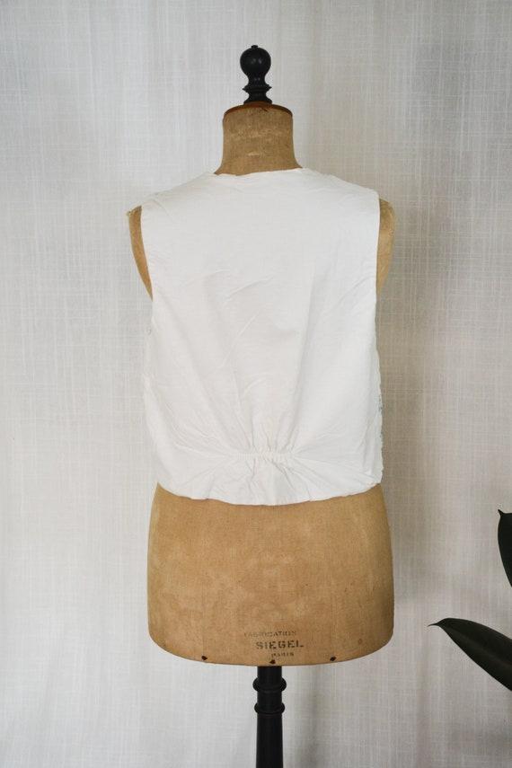 Vintage Quilted Vest//Cottagecore Quilted Vest - image 4