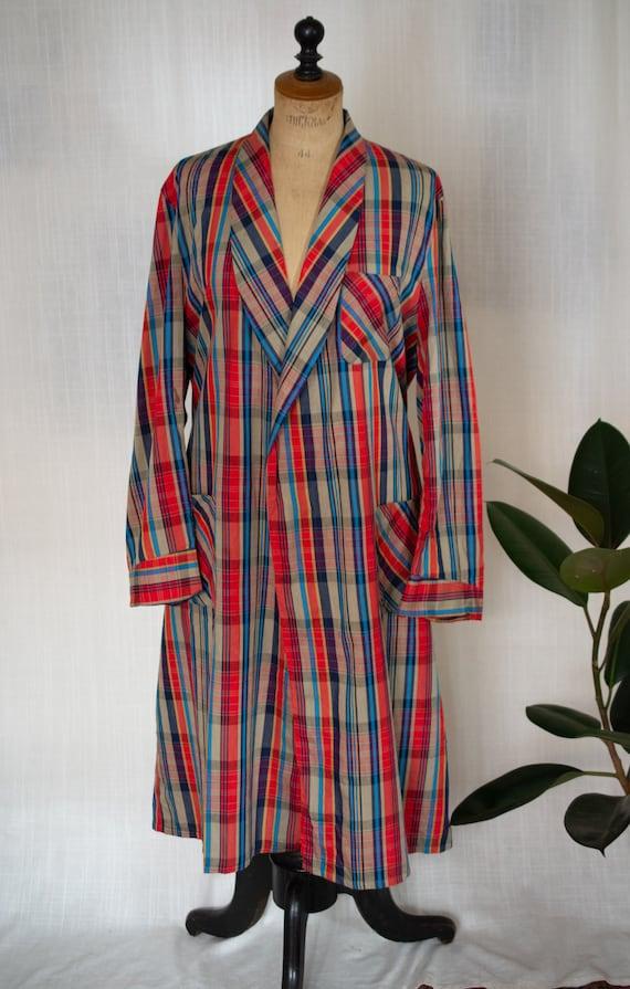 Vintage 1980s Sheer Pink Short Duster Robe Bed Jacket