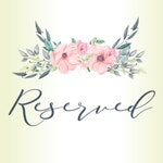 RESERVED FOR PATTY S., Spring Summer Wreath Bow