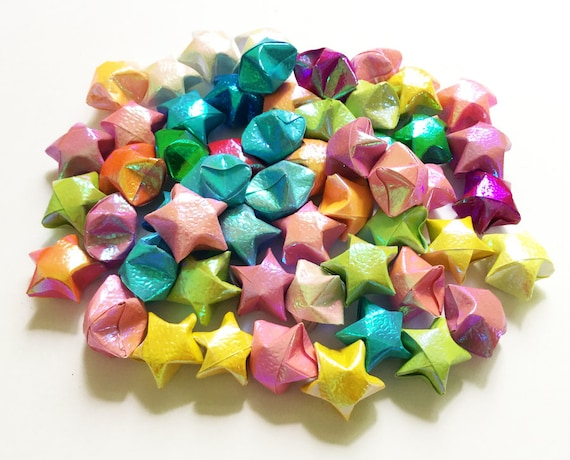 How to Make Origami Lucky Stars : 6 Steps (with Pictures ... | 460x570