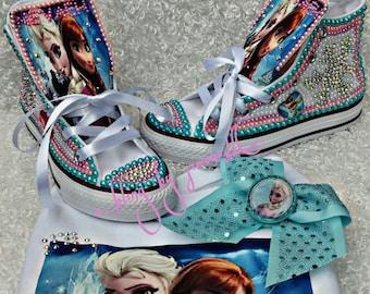 06b15705e0d1 Frozen bling shoes