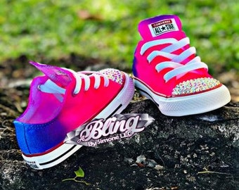 beb0d5d067fd1a Airbrushed Converse with Embellished Toe