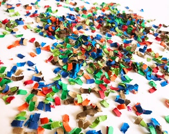 Red, Blue, Orange, Brown, and Green Confetti | Dinosaur Party Decor | Dino Party Decor | Dinosaur Confetti | Dino Confetti | Dinosaur theme
