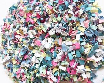 Unicorn Confetti | Rainbow Confetti | Paper Shred Confetti | Glitter Confetti | Unicorn Party Decor | Pastel Party Decor  | Rainbow Party