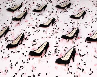 High Heel Cupcake Toppers | Stiletto Cupcake Toppers | Fashion Cupcake Toppers | Fashionista Cupcake Toppers | Birthday Cupcake Toppers
