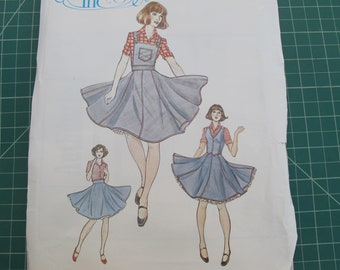 dc72525ce86fc Woman Square Dance Dress Pattern (6 8 10) from Authentic Patterns