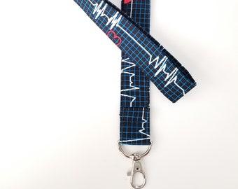 Nurse Lanyards, Lanyard, Badge Lanyard, Badge Holder, Medical themed Lanyard, Nurse Appreciation Gifts, Nurse Keychain, Nurse Gifts