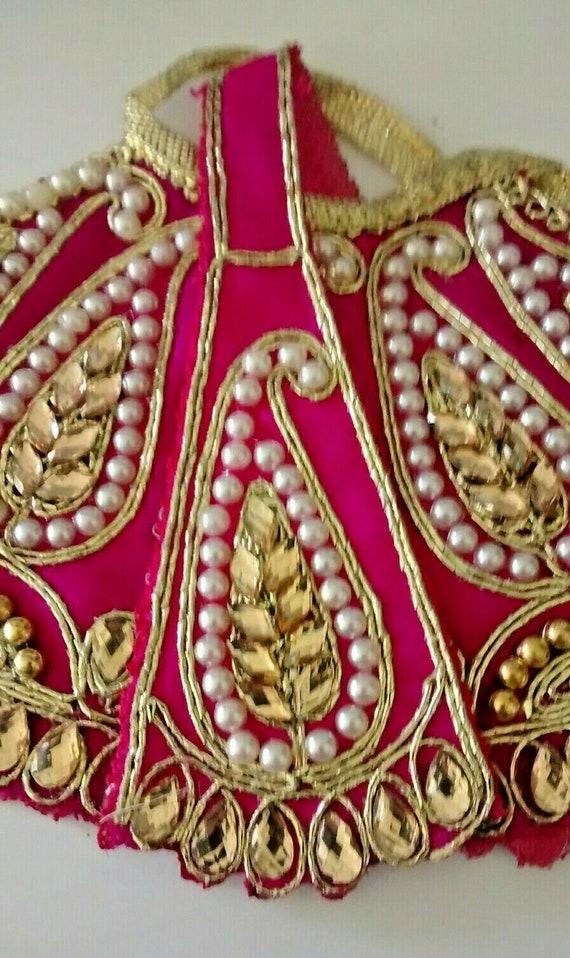 hindu goddess kali/durga/lakshmi shringar dress set 3