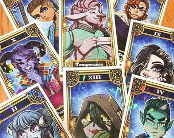 Critical Role Tarot Cards