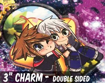 "Sora X Riku - 3"" Acrylic Charm"