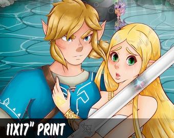 Link & Zelda    Legend of Zelda: BOTW