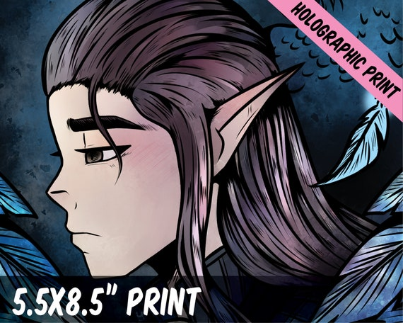 Vax Critical Role Fanart 5 5x8 5inch Etsy You can throw it on twitter and direct your drawings at #criticalrole. etsy