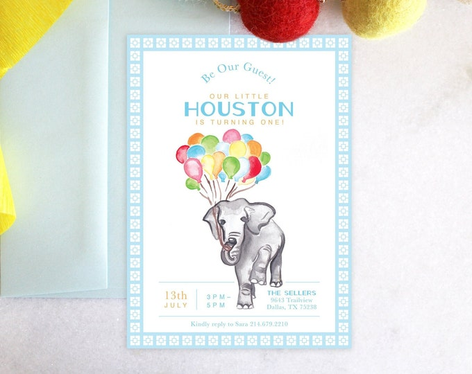 PRINTABLE Birthday Party Invitation | Gray Malin | Be Our Guest