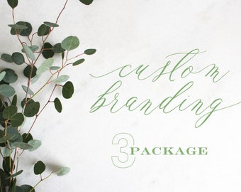 Custom Branding | Package 3 | Logo Update | Minimal Logo